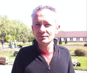 Hervé, notre professeur jardinier à l'Ecole du Breuil