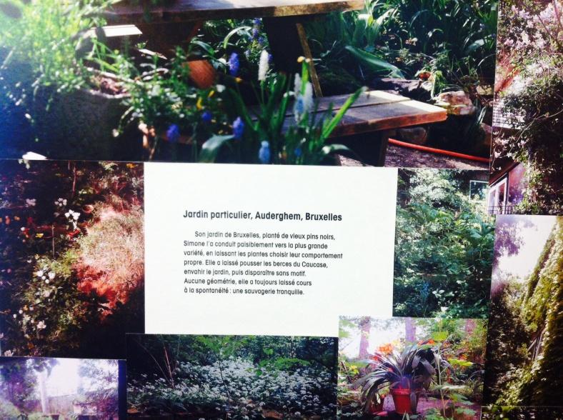 Jardin particulier de Simone, à Bruxelles