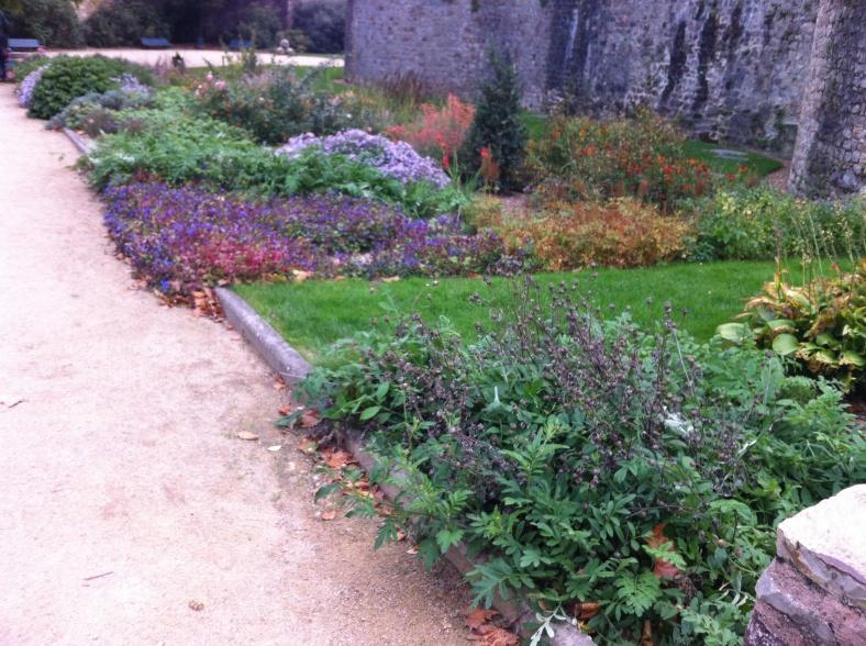 Jardin de curé, à l'arrière de la Cathédrale Saint Julien